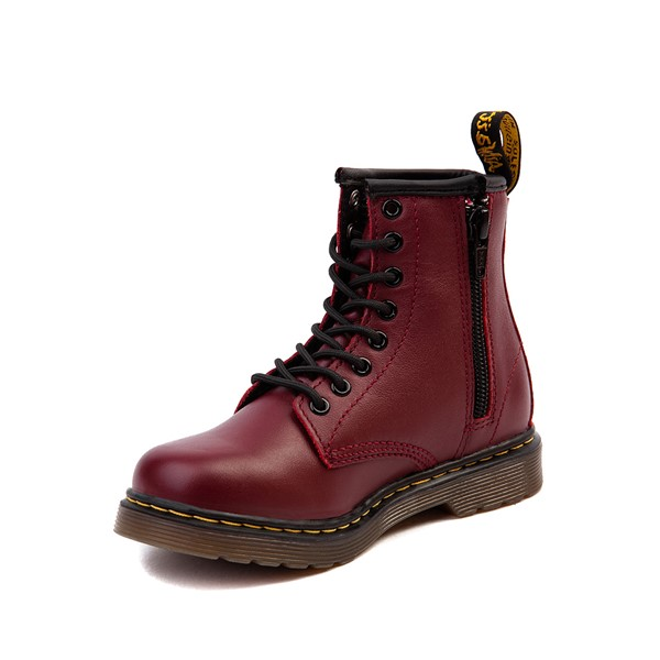 alternate image alternate view Dr. Martens 1460 8-Eye Boot - Little Kid / Big Kid - CherryALT2