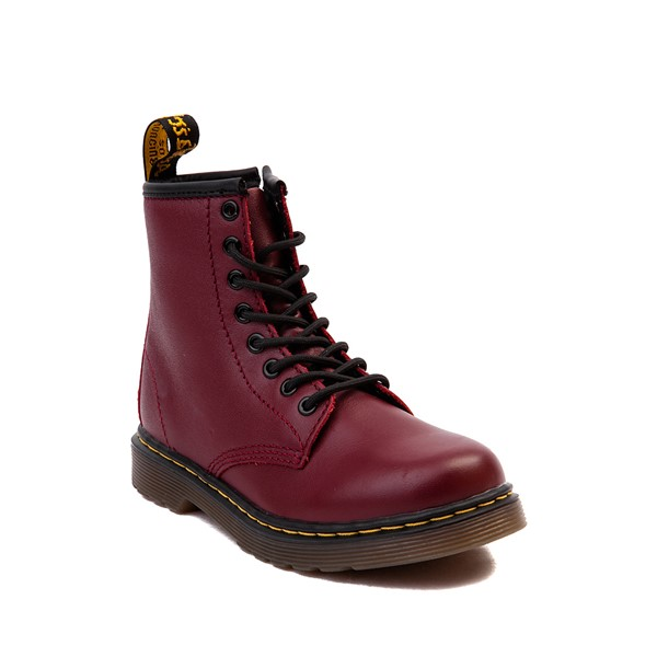 alternate image alternate view Dr. Martens 1460 8-Eye Boot - Little Kid / Big Kid - CherryALT5
