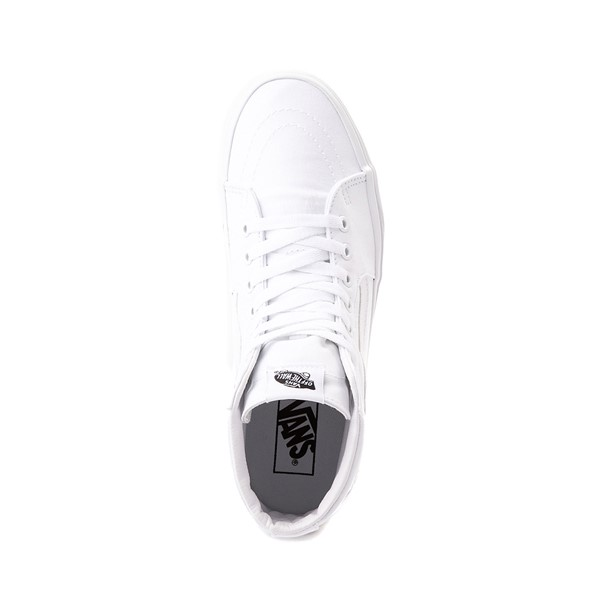 alternate image alternate view Vans Sk8 Hi Skate Shoe - WhiteALT2