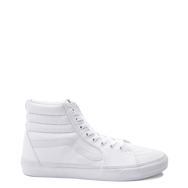 Main view of Vans Sk8 Hi Skate Shoe - White
