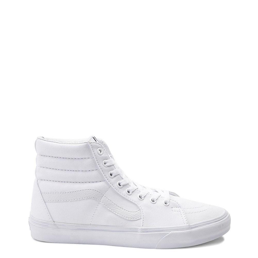Vans Sk8 Hi Skate Shoe - White