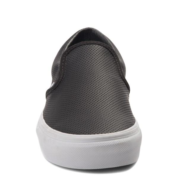 alternate image alternate view Vans Slip On Perforated Leather Skate ShoeALT4
