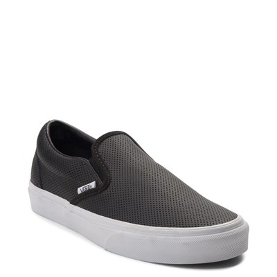 Alternate view of Vans Slip On Perforated Leather Skate Shoe