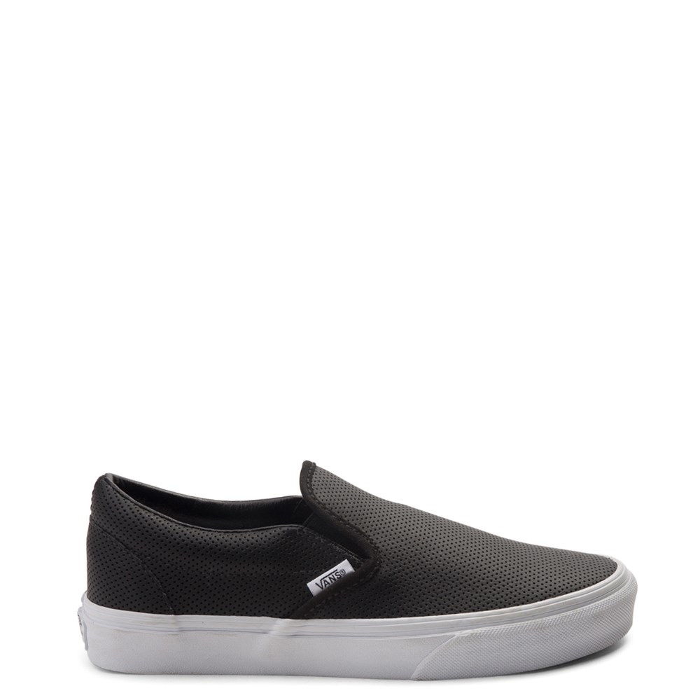 Vans Slip On Perforated Leather Skate Shoe