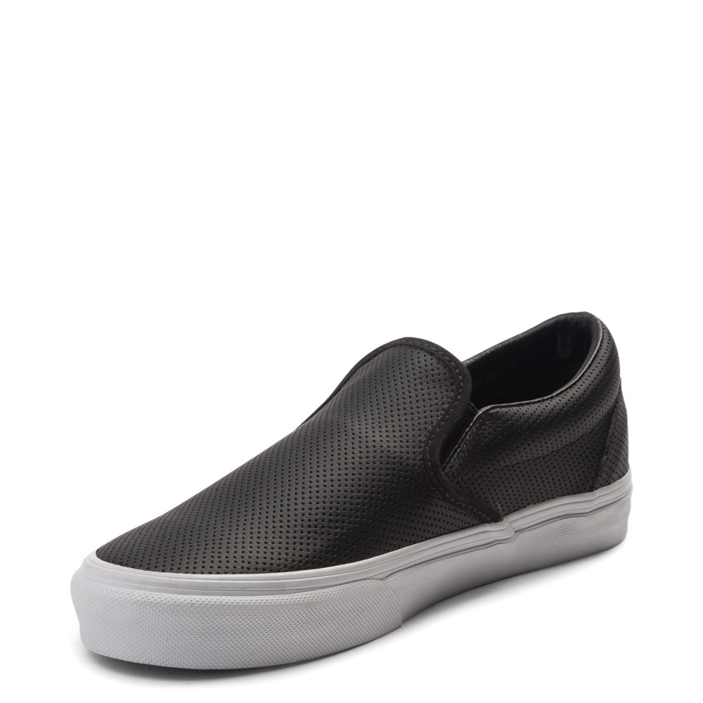 051e2cacb3e7 Vans Slip On Perforated Leather Skate Shoe