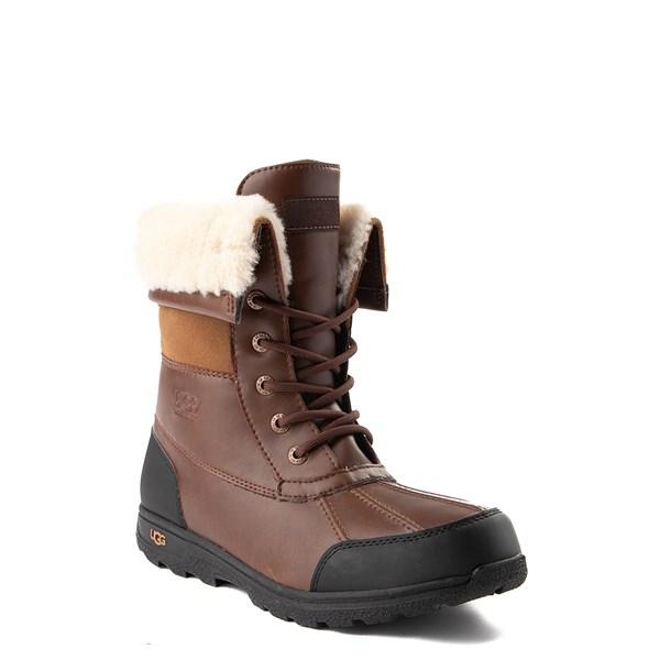 alternate image alternate view UGG® Butte II Boot - Little Kid / Big Kid - ChocolateALT1
