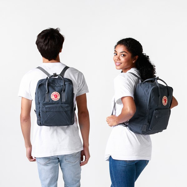 alternate image alternate view Fjallraven Kanken Backpack - GraphiteALT1BADULT