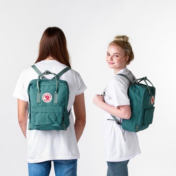 alternate image alternate view Fjallraven Kanken Backpack - Frost GreenALT1BADULT