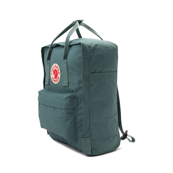 alternate image alternate view Fjallraven Kanken Backpack - Frost GreenALT4