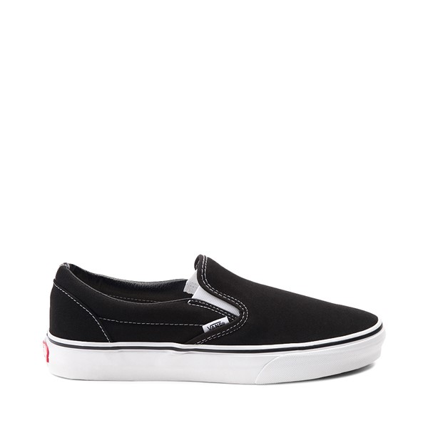 Vans Slip On Skate Shoe - Black / White