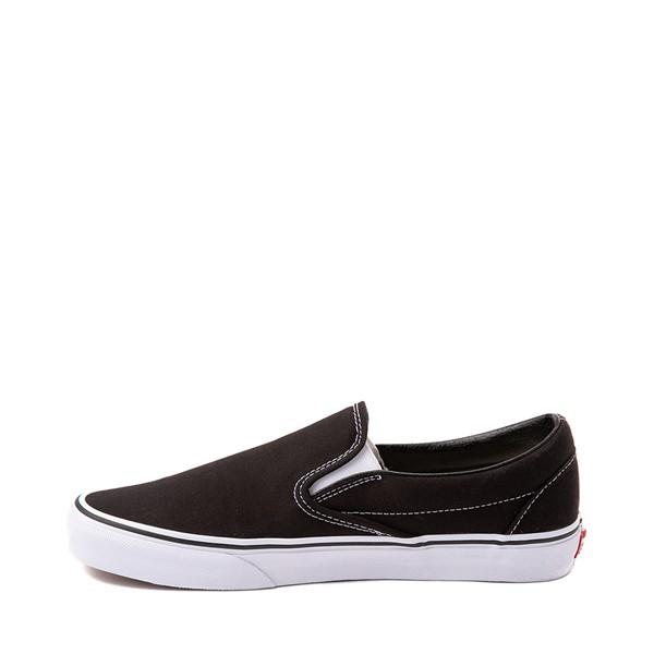 alternate view Vans Slip On Skate Shoe - Black / WhiteALT1