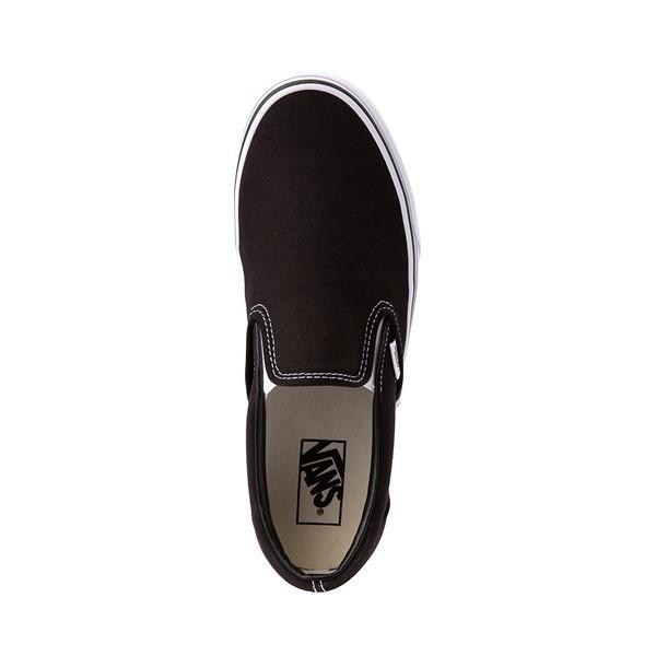 alternate view Vans Slip On Skate Shoe - Black / WhiteALT2