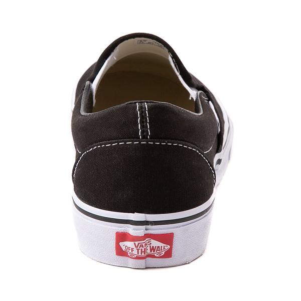 alternate view Vans Slip On Skate Shoe - Black / WhiteALT4