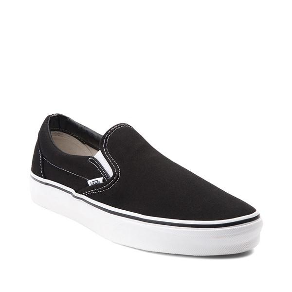 alternate view Vans Slip On Skate Shoe - Black / WhiteALT5