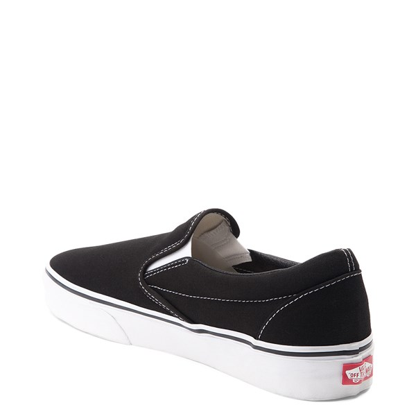 alternate image alternate view Vans Slip On Skate Shoe - Black / WhiteALT2