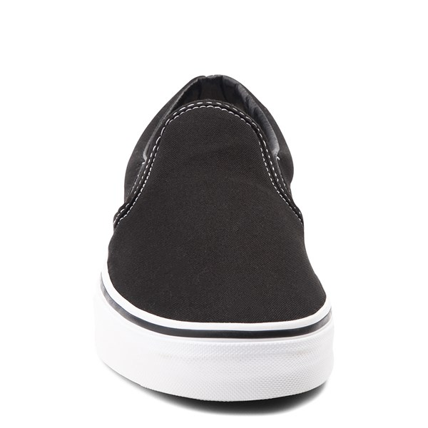 alternate image alternate view Vans Slip On Skate Shoe - Black / WhiteALT4
