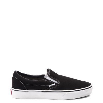 Main view of Vans Slip On Skate Shoe - Black / White