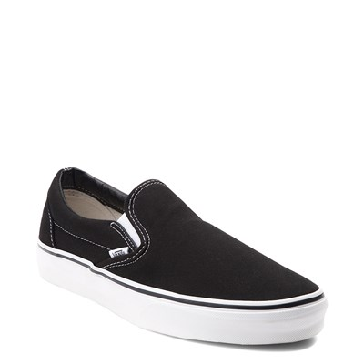 Alternate view of Vans Slip On Skate Shoe - Black / White