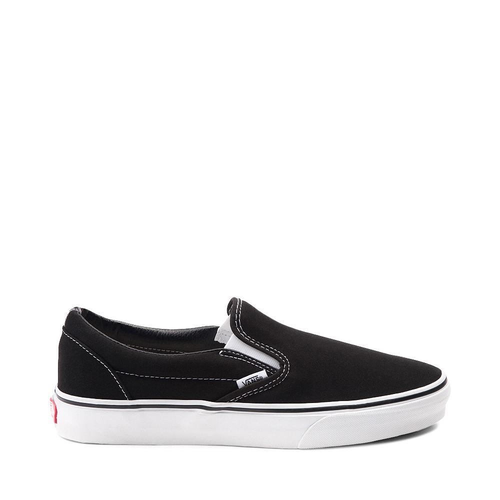 Vans Slip On Skate Shoe - Black / White