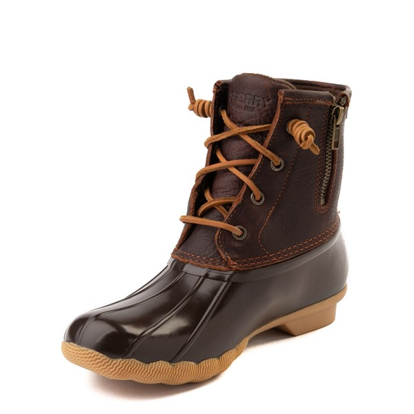 alternate image alternate view Womens Sperry Top-Sider Saltwater Boot - BrownALT2