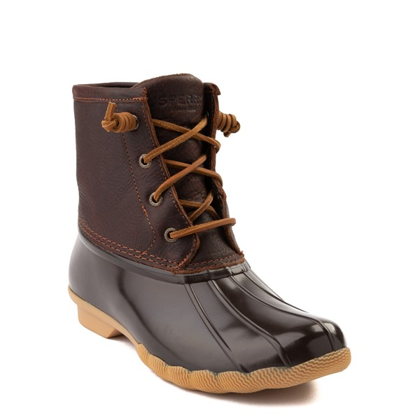 alternate image alternate view Womens Sperry Top-Sider Saltwater Boot - BrownALT5