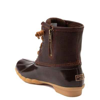 Alternate view of Womens Sperry Top-Sider Saltwater Boot - Brown
