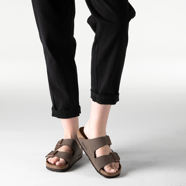 alternate image alternate view Womens Birkenstock Arizona Sandal - MochaB-LIFESTYLE1