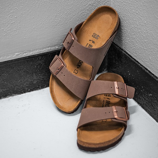 alternate image alternate view Womens Birkenstock Arizona Sandal - MochaALT6