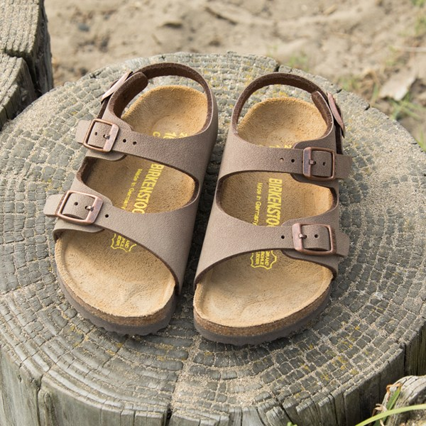 alternate image alternate view Birkenstock Arizona Sandal - Little Kid - Light BrownALT6