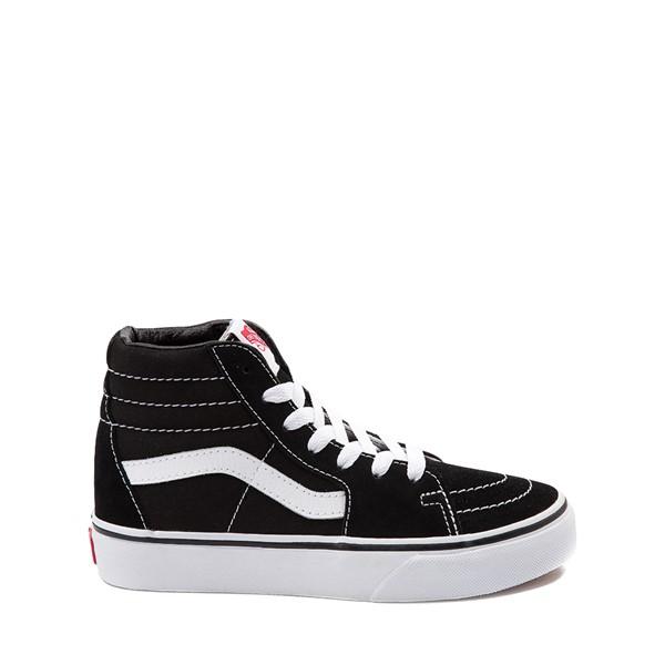 Vans Sk8 Hi Skate Shoe - Little Kid / Big Kid - Black / White