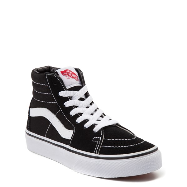alternate image alternate view Vans Sk8 Hi Skate Shoe - Little Kid / Big KidALT1