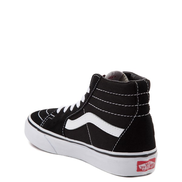 alternate image alternate view Vans Sk8 Hi Skate Shoe - Little Kid / Big KidALT2