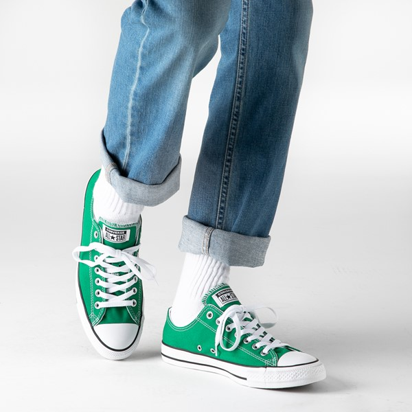 alternate image alternate view Converse Chuck Taylor All Star Lo Sneaker - Amazon GreenB-LIFESTYLE1