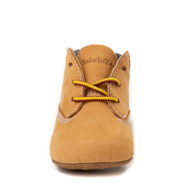 alternate image alternate view Timberland Boot and Hat Set - Baby - WheatALT4