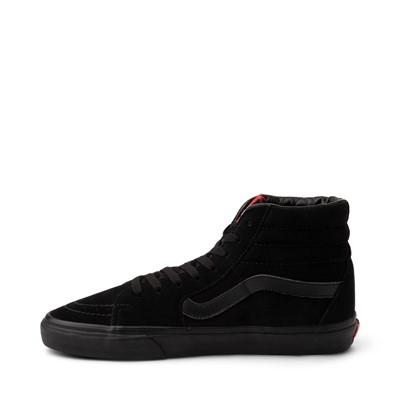 Alternate view of Vans Sk8 Hi Skate Shoe - Black Monochrome