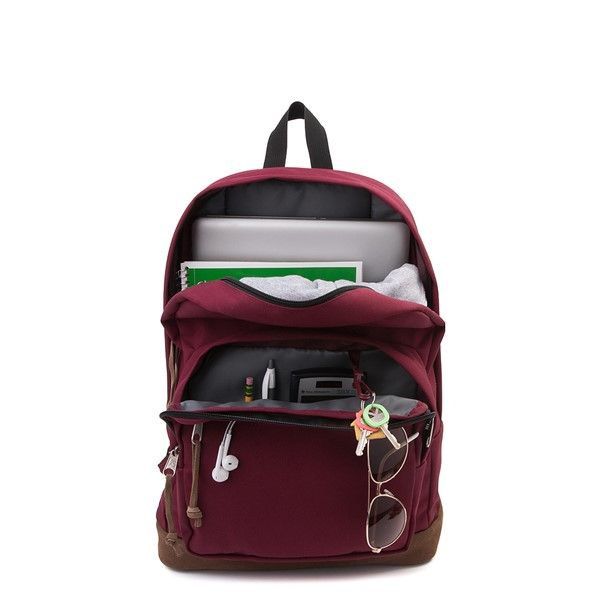 alternate image alternate view JanSport Right Pack Backpack - Russet RedALT1