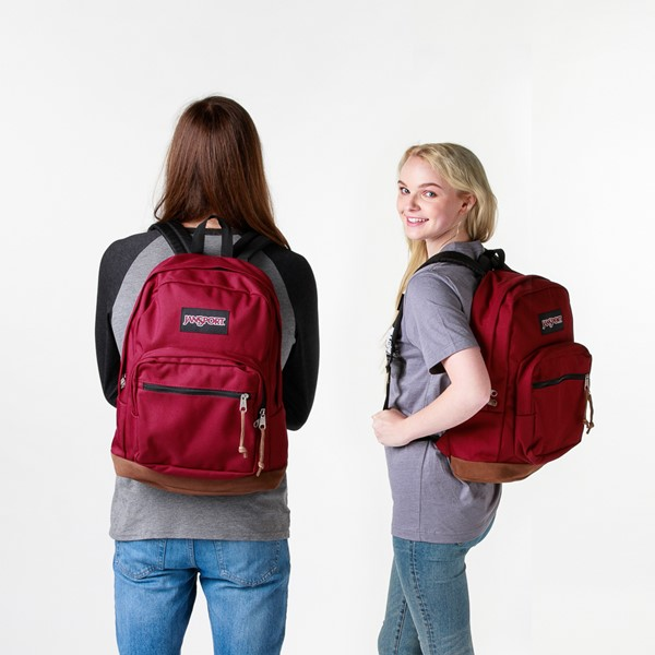 alternate image alternate view JanSport Right Pack Backpack - Russet RedALT1BADULT