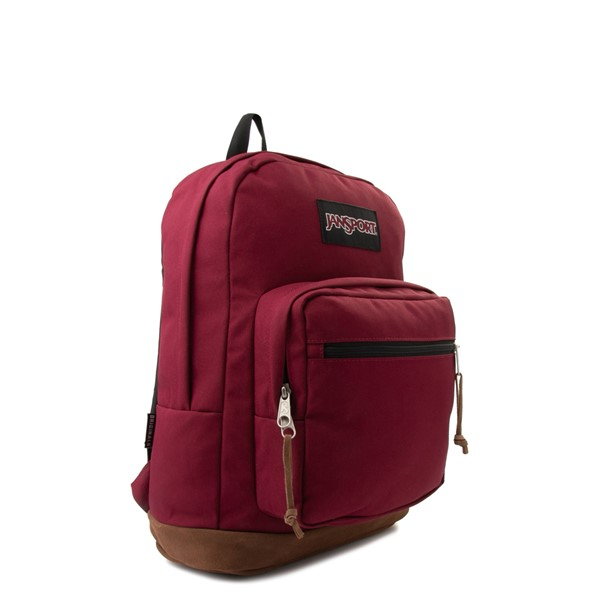 alternate image alternate view JanSport Right Pack Backpack - Russet RedALT4B