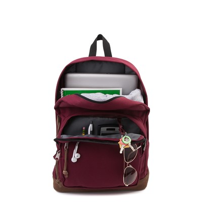 Alternate view of JanSport Right Pack Backpack - Russet Red