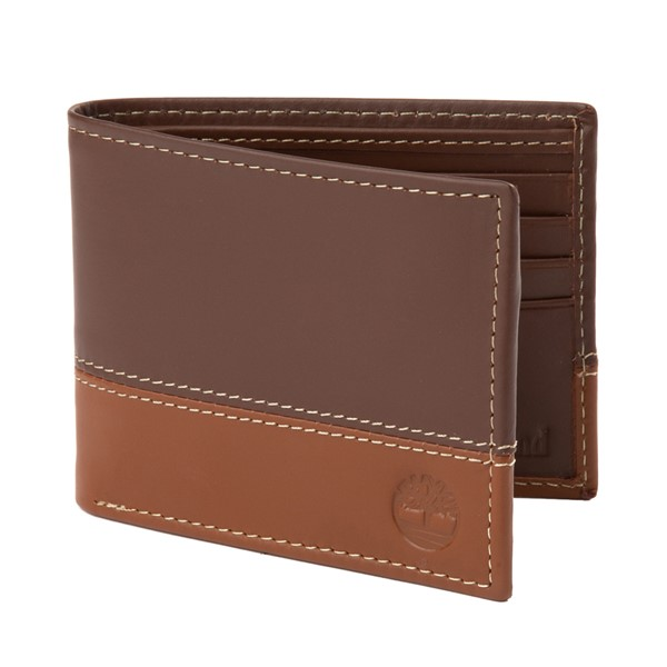 Timberland 2 Tone Bi-Fold Wallet - Brown / Tan