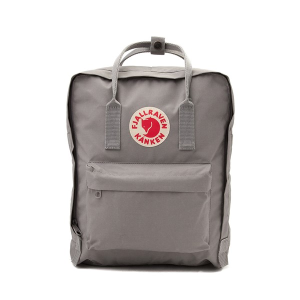 Main view of Fjallraven Kanken Backpack - Fog Grey