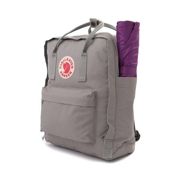 alternate image alternate view Fjallraven Kanken Backpack - Fog GreyALT4