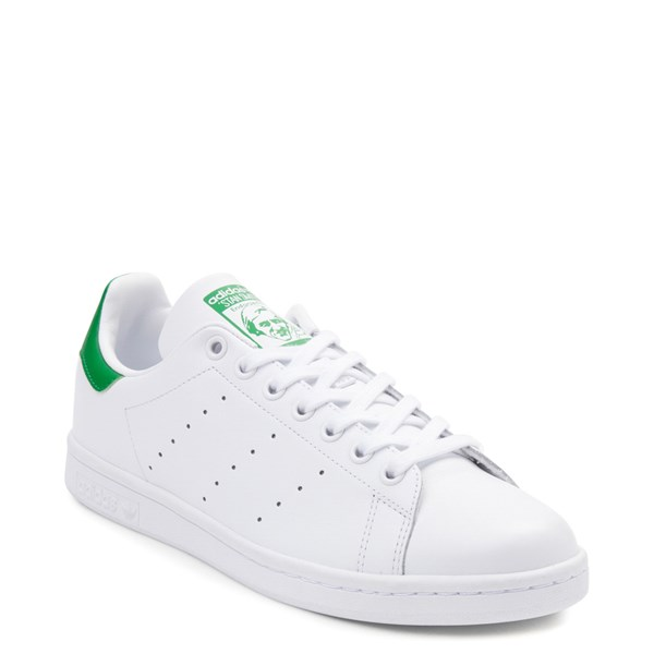 alternate image alternate view Mens adidas Stan Smith Athletic Shoe - White / GreenALT1