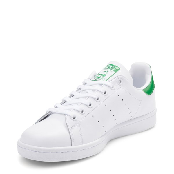 alternate image alternate view Mens adidas Stan Smith Athletic Shoe - White / GreenALT3