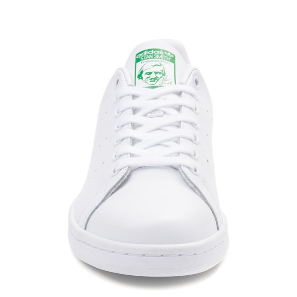 alternate image alternate view Mens adidas Stan Smith Athletic Shoe - White / GreenALT4