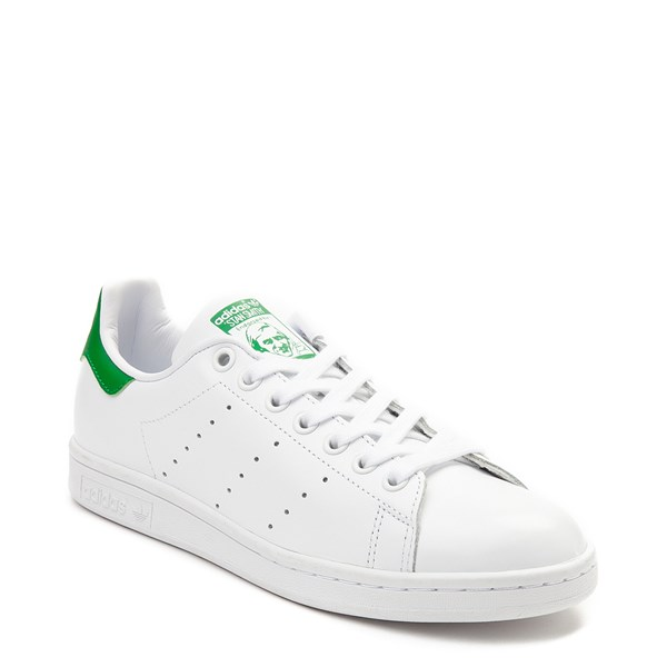 alternate image alternate view Womens adidas Stan Smith Athletic Shoe - White / GreenALT1