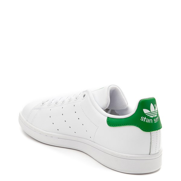 alternate image alternate view Womens adidas Stan Smith Athletic Shoe - White / GreenALT2
