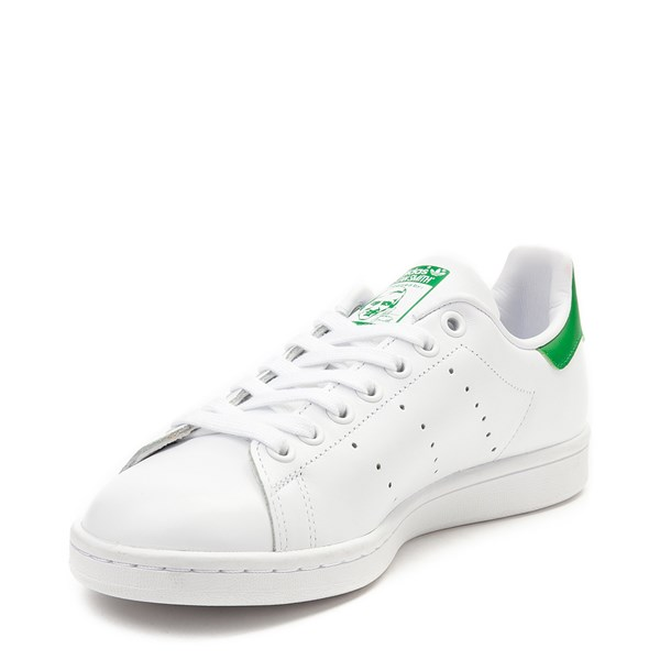 alternate image alternate view Womens adidas Stan Smith Athletic Shoe - White / GreenALT3