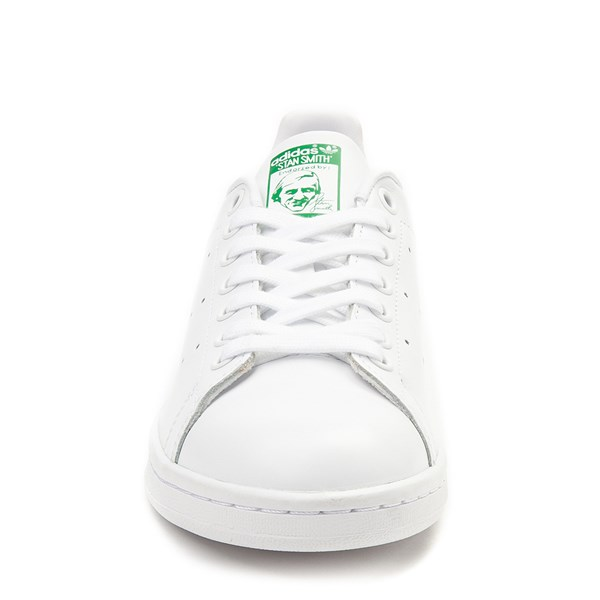 alternate image alternate view Womens adidas Stan Smith Athletic Shoe - White / GreenALT4