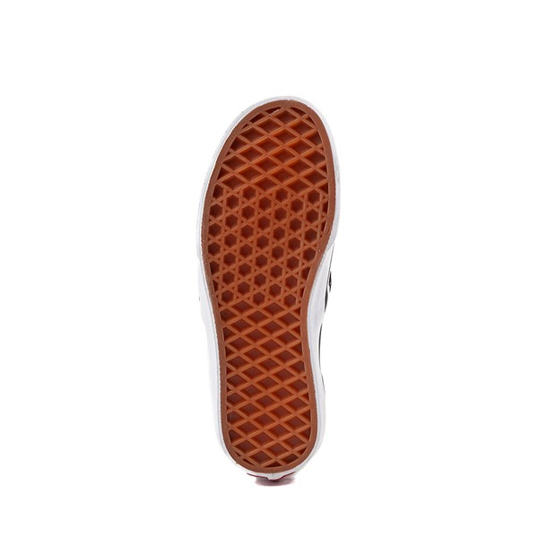 alternate image alternate view Vans Slip On Checkerboard Skate Shoe - Little Kid / Big Kid - Black / WhiteALT3